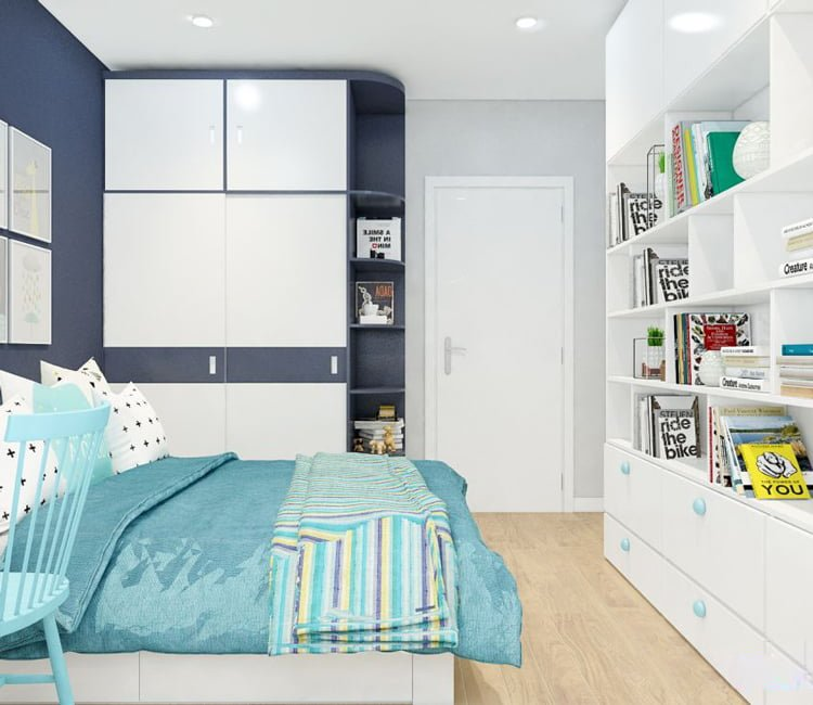 Thiết kế nội thất chung cư 65m2 Trung Hòa Nhân Chính - anh Cường 3