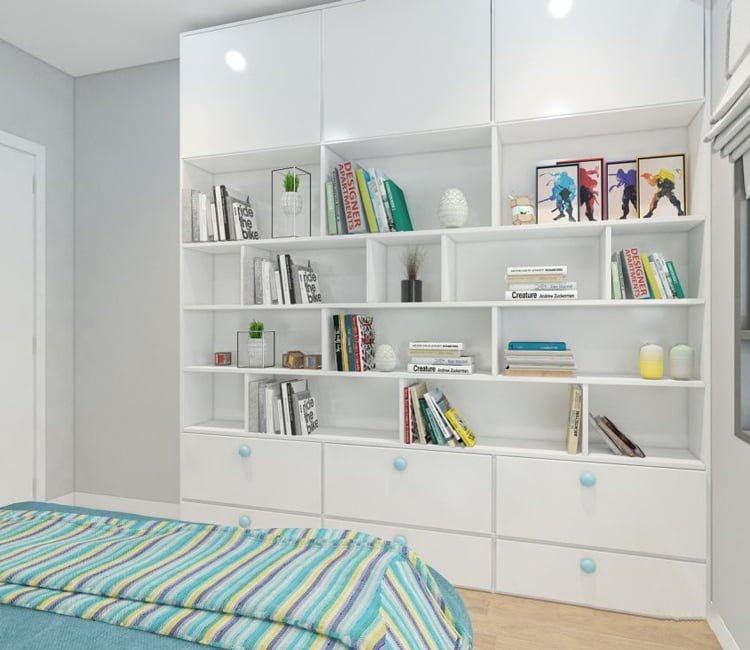 Thiết kế nội thất chung cư 65m2 Trung Hòa Nhân Chính - anh Cường 4