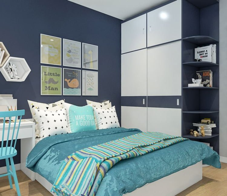 Thiết kế nội thất chung cư 65m2 Trung Hòa Nhân Chính - anh Cường 5