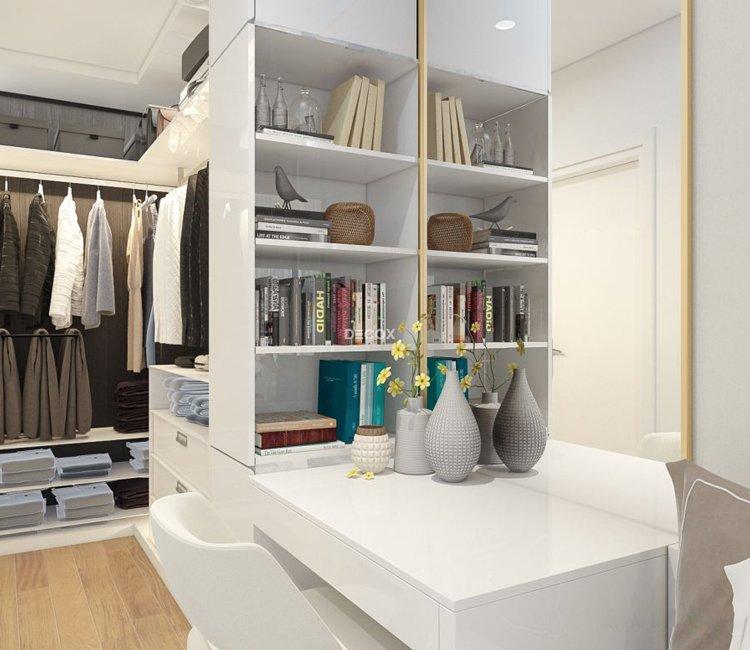 Thiết kế nội thất chung cư 65m2 Trung Hòa Nhân Chính - anh Cường 11