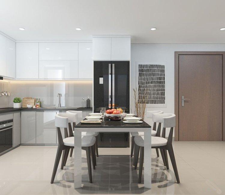 Thiết kế nội thất chung cư 65m2 Trung Hòa Nhân Chính - anh Cường 16