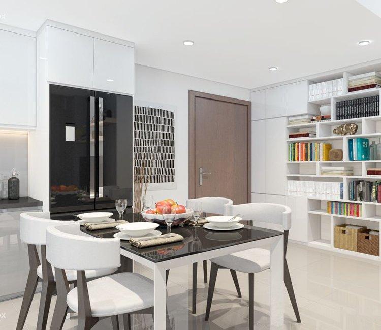 Thiết kế nội thất chung cư 65m2 Trung Hòa Nhân Chính - anh Cường 17