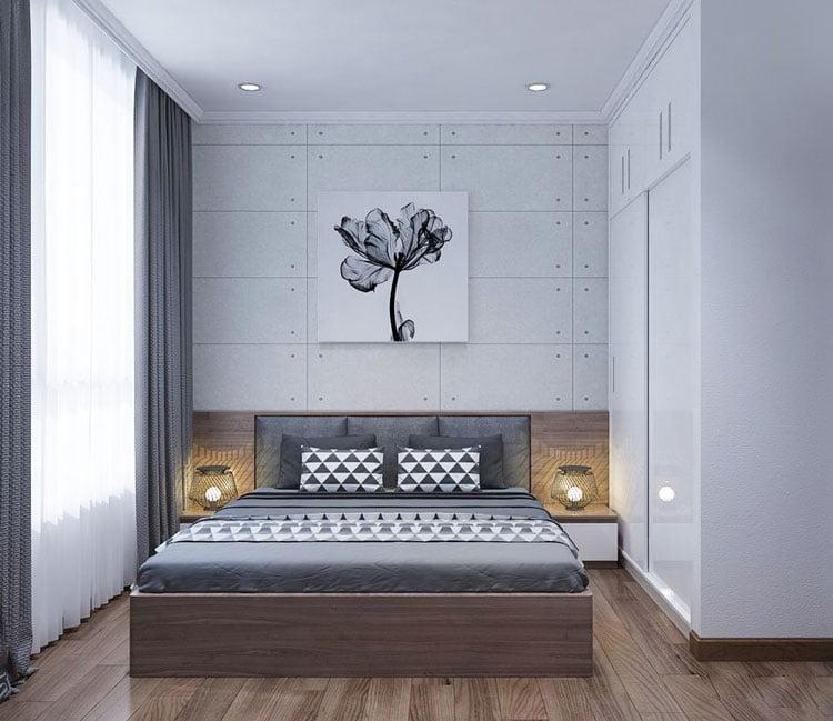 thiết kế nội thất chung cư 77m2 - anh Nhân 2