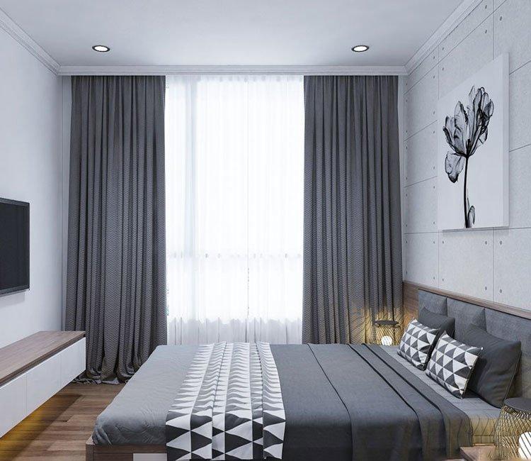 thiết kế nội thất chung cư 77m2 - anh Nhân 1