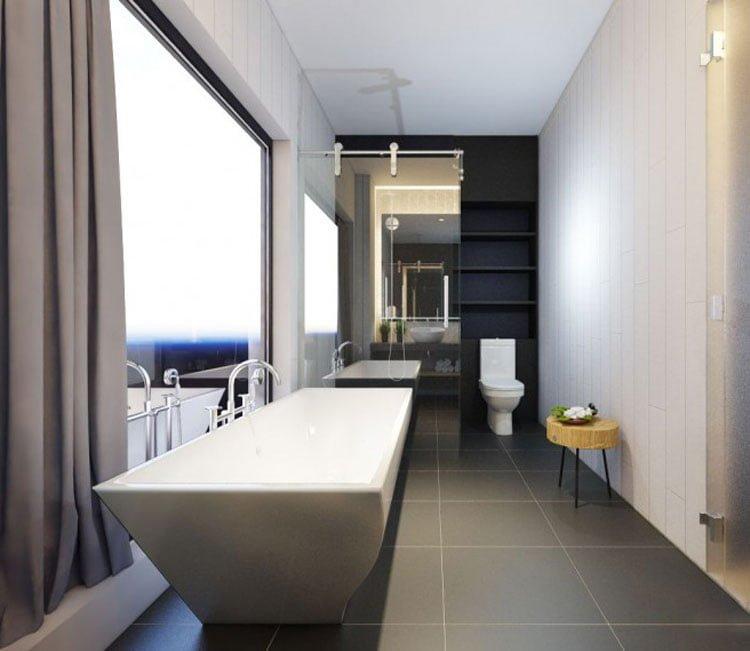 Thiết kế nội thất chung cư 77m2 Center Point - anh Quang 5
