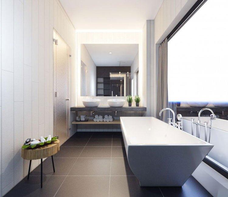 Thiết kế nội thất chung cư 77m2 Center Point - anh Quang 3
