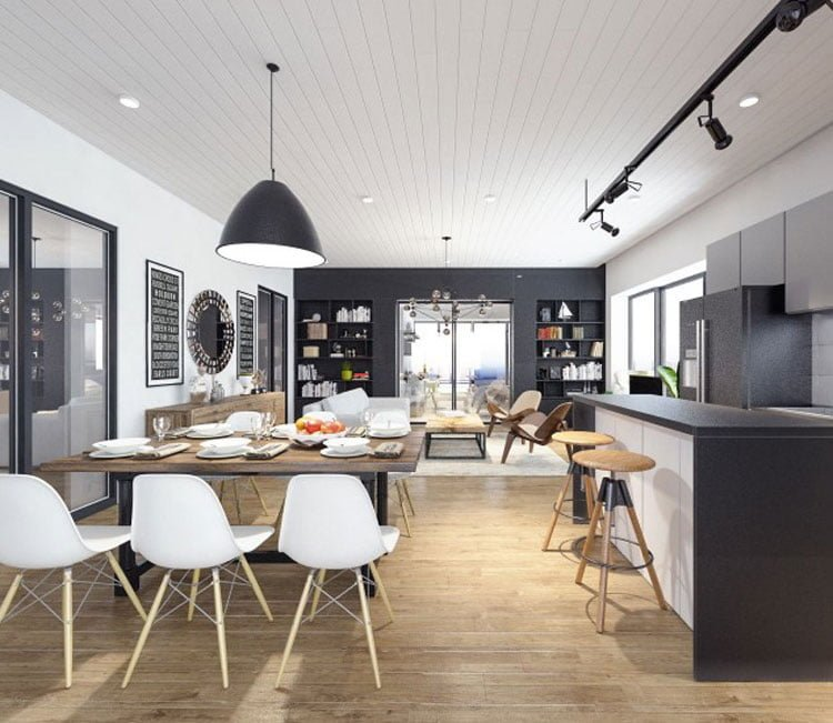 Thiết kế nội thất chung cư 77m2 Center Point - anh Quang 7