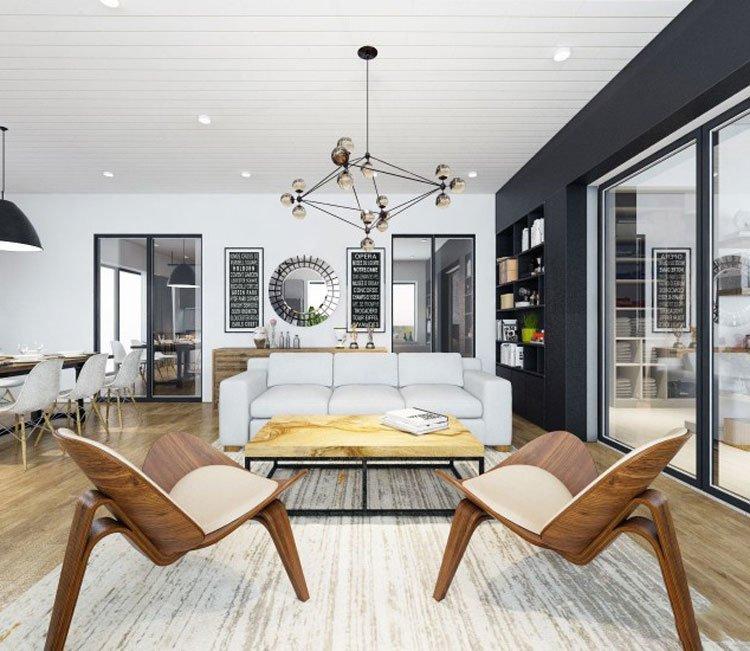 Thiết kế nội thất chung cư 77m2 Center Point - anh Quang 9
