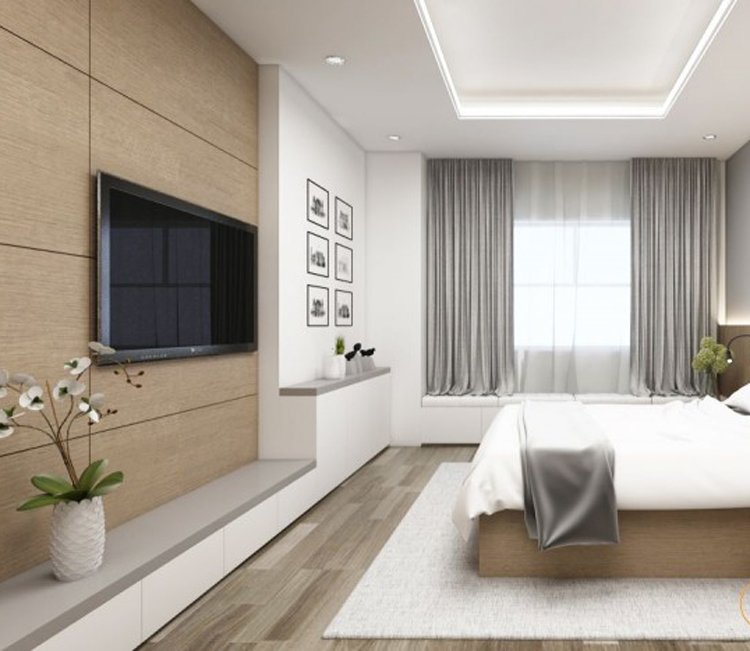 Thiết kế nội thất chung cư 78m2 FLC - chị Minh 12