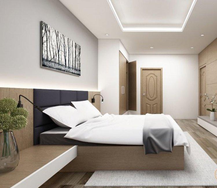 Thiết kế nội thất chung cư 78m2 FLC - chị Minh 13