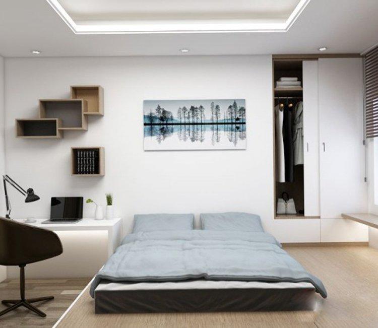 Thiết kế nội thất chung cư 78m2 FLC - chị Minh 14