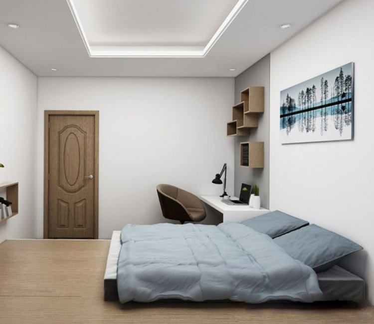 Thiết kế nội thất chung cư 78m2 FLC - chị Minh 15