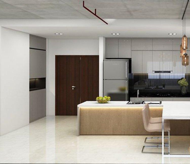 Thiết kế nội thất chung cư 78m2 FLC - chị Minh 4