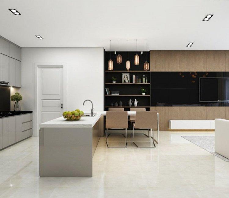 Thiết kế nội thất chung cư 78m2 FLC - chị Minh 5