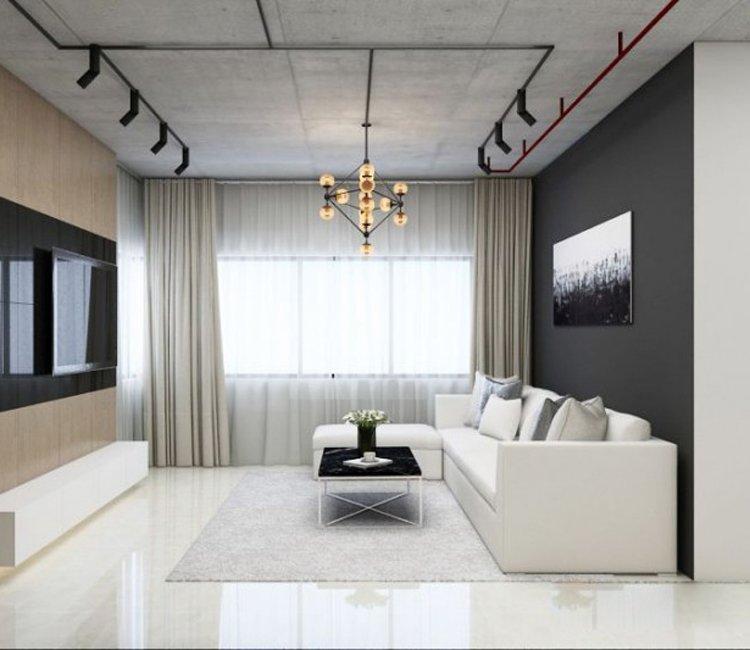 Thiết kế nội thất chung cư 78m2 FLC - chị Minh 8