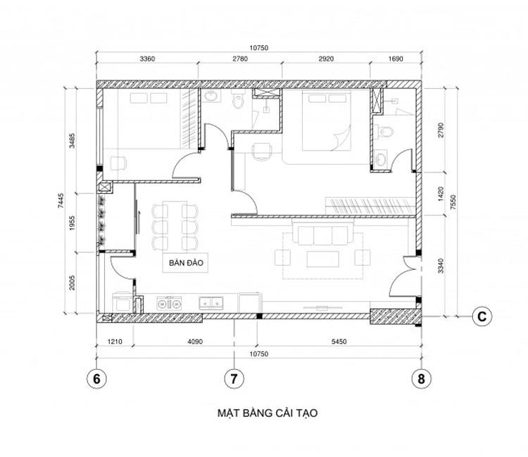 Thiết kế nội thất chung cư Ecopark - anh Hiếu 1