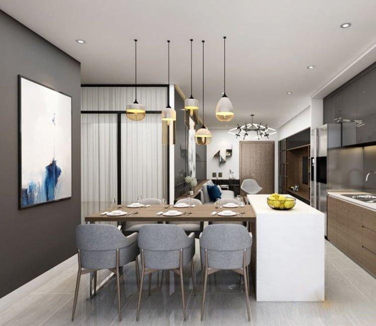 Thiết kế nội thất chung cư Ecopark - anh Hiếu 2
