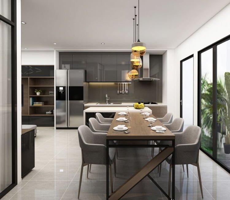 Thiết kế nội thất chung cư Ecopark - anh Hiếu 3