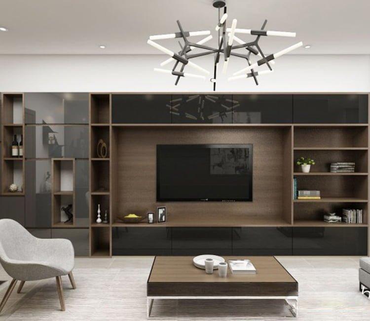 Thiết kế nội thất chung cư Ecopark - anh Hiếu 4