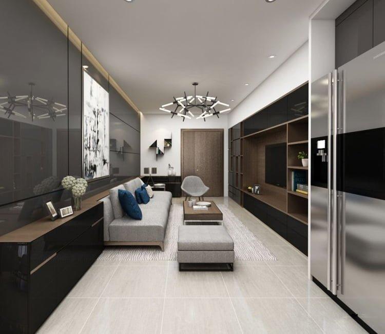 Thiết kế nội thất chung cư Ecopark - anh Hiếu 6