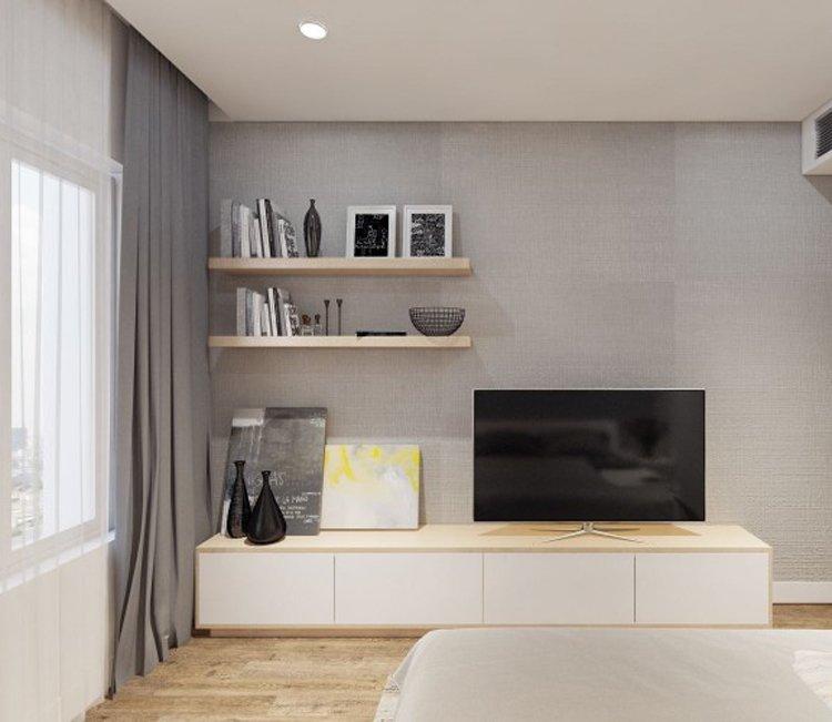 Thiết kế nội thất chung cư 83m2 HH3 Linh Đàm - anh Đức 3