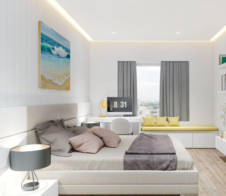 Thiết kế nội thất chung cư 83m2 HH3 Linh Đàm - anh Đức 4