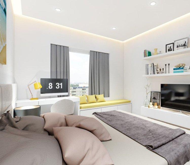 Thiết kế nội thất chung cư 83m2 HH3 Linh Đàm - anh Đức 5