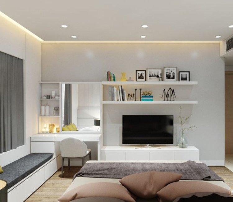Thiết kế nội thất chung cư 83m2 HH3 Linh Đàm - anh Đức 7