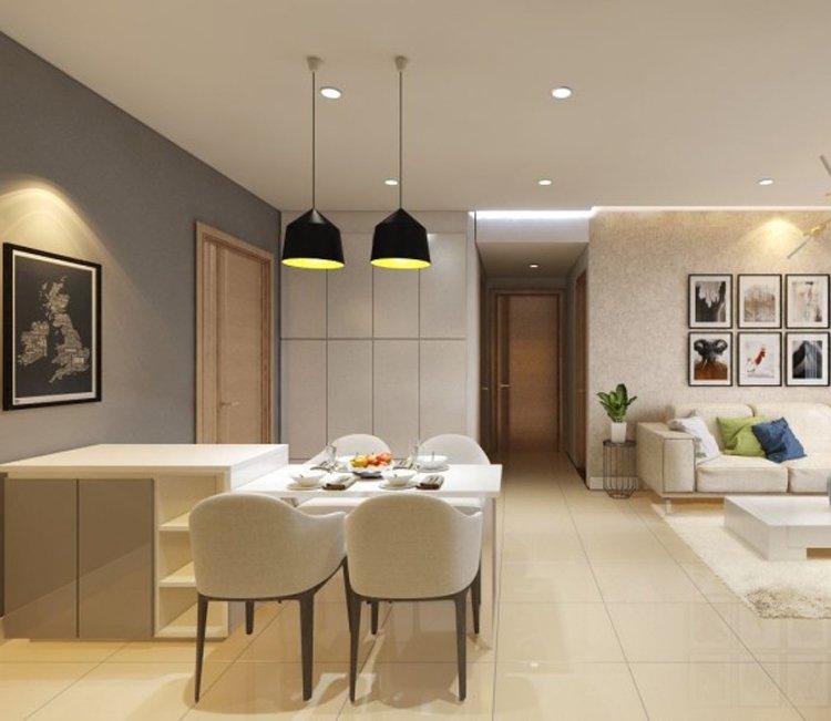 Thiết kế nội thất chung cư 83m2 HH3 Linh Đàm - anh Đức 11