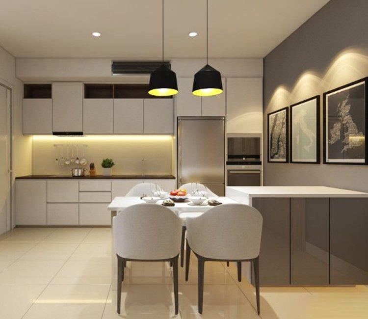 Thiết kế nội thất chung cư 83m2 HH3 Linh Đàm - anh Đức 12