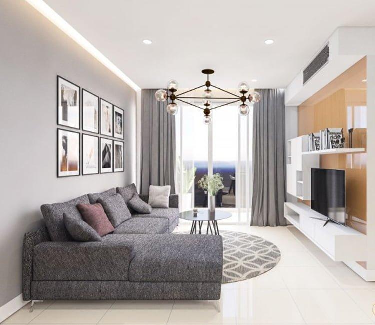 Thiết kế nội thất chung cư 83m2 HH3 Linh Đàm - anh Đức 15