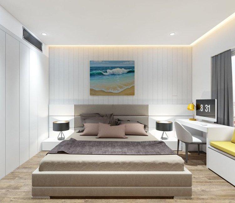 Thiết kế nội thất chung cư 83m2 HH3 Linh Đàm - anh Đức 2