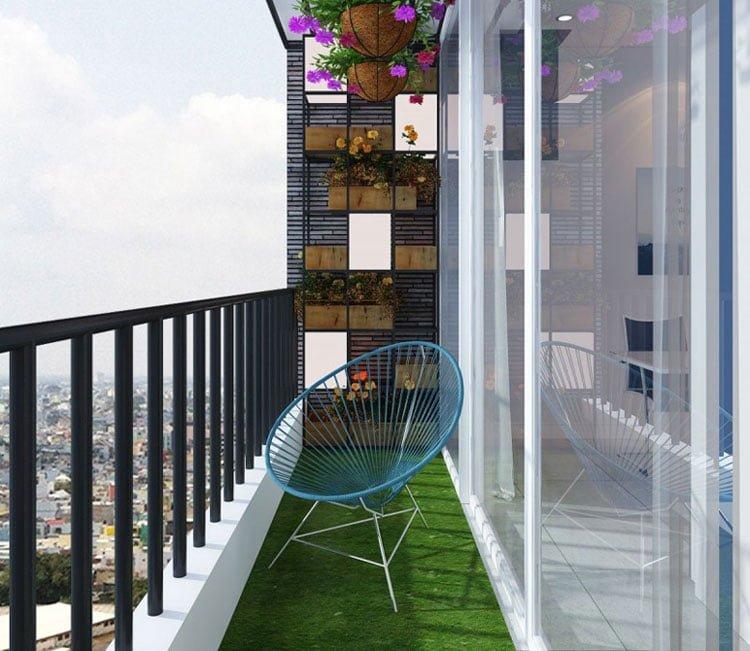 Thiết kế nội thất chung cư 88m2 Hà Nội Pragon - anh Vinh 11