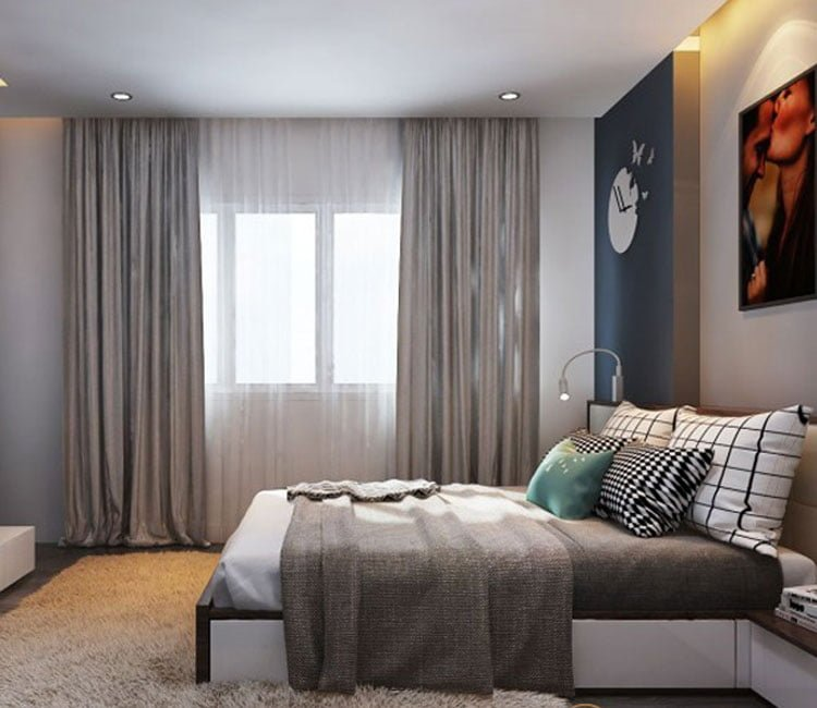 Thiết kế nội thất chung cư 88m2 Hà Nội Pragon - anh Vinh 6