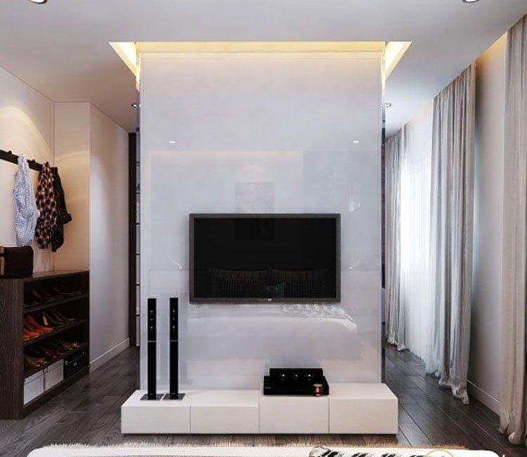Thiết kế nội thất chung cư 88m2 Hà Nội Pragon - anh Vinh 7