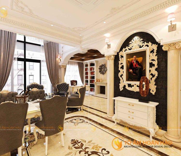 thiết kế kiến trúc nội thất anh Dương Vinhomes Mỹ Đình 3