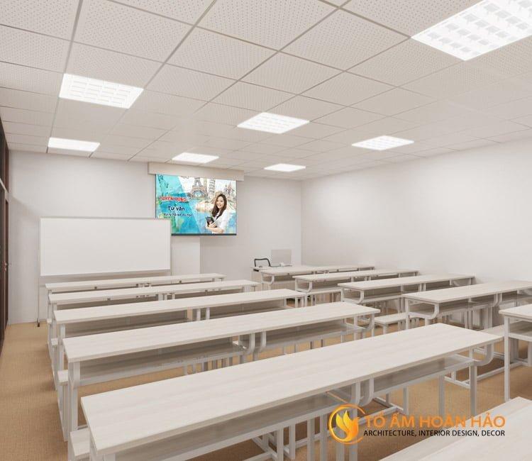 thiết kế thi công kiến trúc nội thất văn phòng Emico 10
