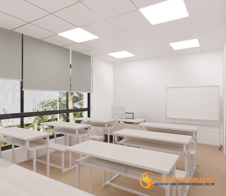 thiết kế thi công kiến trúc nội thất văn phòng Emico 11