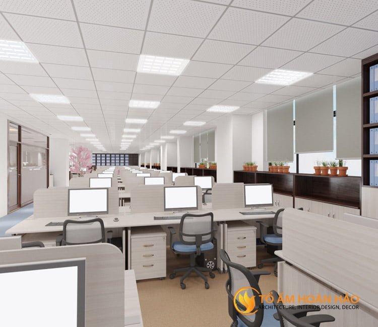 thiết kế thi công kiến trúc nội thất văn phòng Emico 13