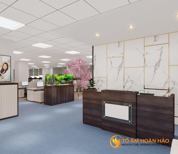 thiết kế thi công kiến trúc nội thất văn phòng Emico 6