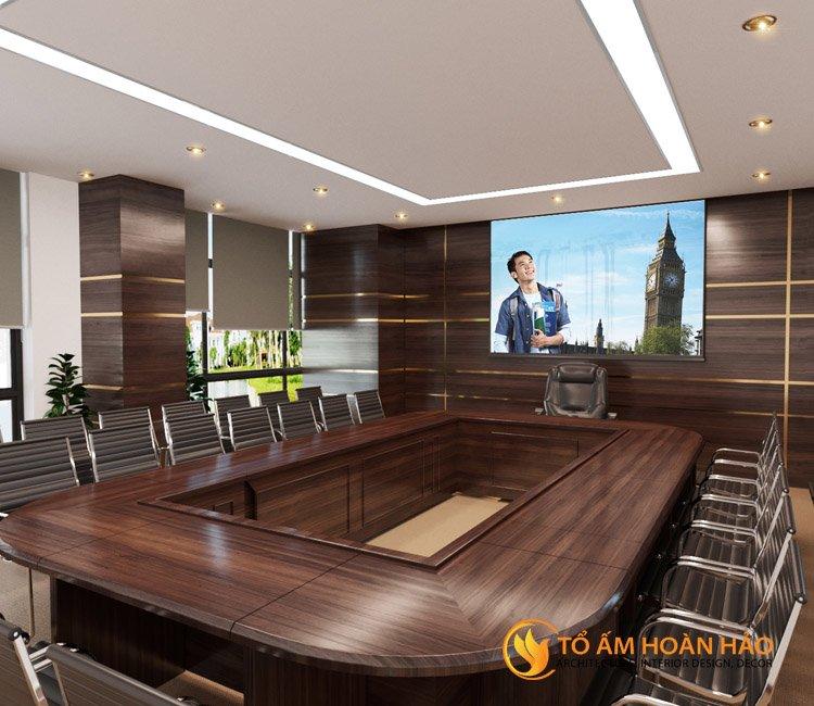 thiết kế thi công kiến trúc nội thất văn phòng Emico 8