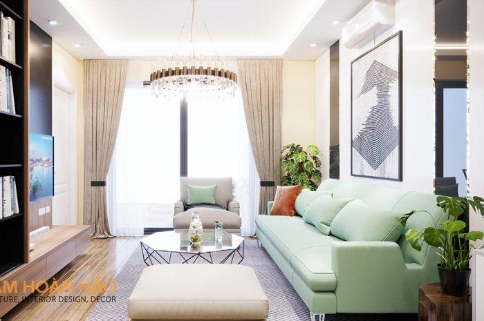 thiết kế thi công kiến trúc nội thất Oriental Westlake 1
