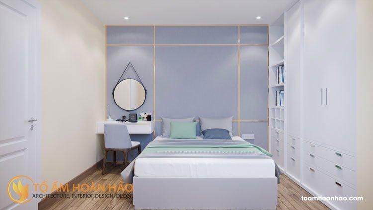 thiết kế kiến trúc nội thất chị Liên Oriental Westlake 3