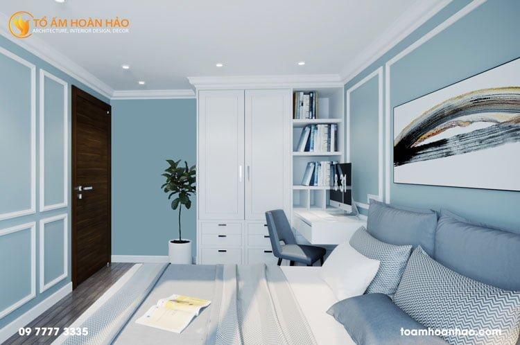 thiết kế thi công kiến trúc nội thất nhà chị Thu HongKong Tower 12