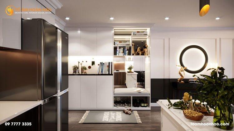 thiết kế thi công kiến trúc nội thất nhà chị Thu HongKong Tower 3