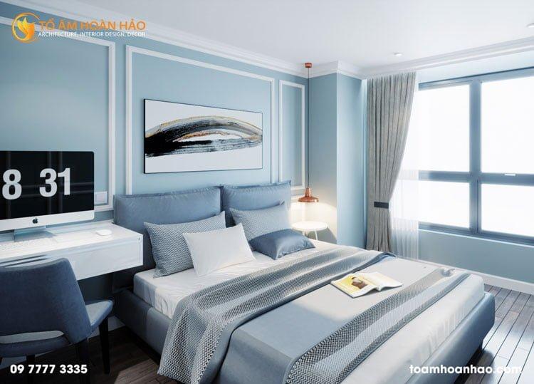 thiết kế thi công kiến trúc nội thất nhà chị Thu HongKong Tower 11