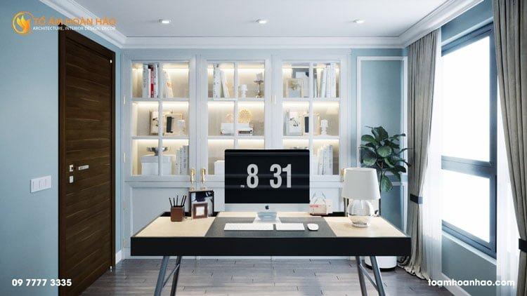 thiết kế thi công kiến trúc nội thất nhà chị Thu HongKong Tower 7