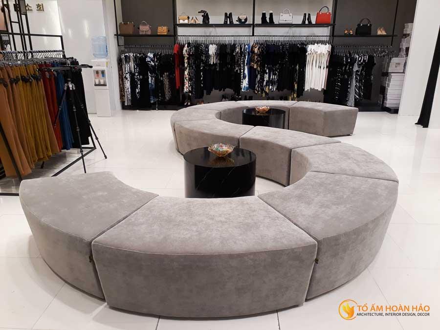 thiết kế thi công kiến trúc nội thất showroom thời trang sohee Vincom Bà Triệu 17
