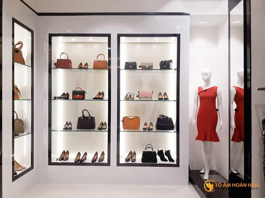 thiết kế thi công kiến trúc nội thất showroom thời trang sohee Vincom Bà Triệu 1