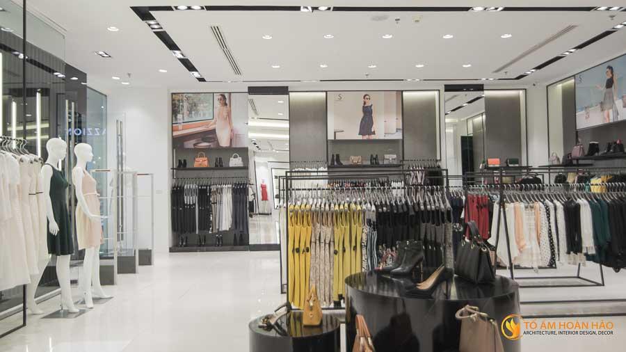 thiết kế thi công kiến trúc nội thất showroom thời trang sohee Vincom Bà Triệu 13